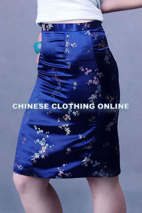 Cheongsam Style Short Embroidery Skirt (CM)