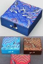 織錦緞首飾盒(多色)