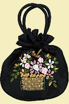 Embroidery Mini Handbag (Multicolor)