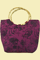Silk Brocade Handbag (Multicolor)