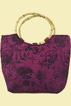 Silk Brocade Handbag (Multicolor)