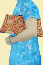 Brocade Clutch Handbag (Multicolor)