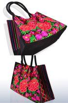 Ethnic Embroidery Large Handbag