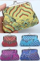 Versatile Brocade Purse / Mini Handbag (Multicolor)