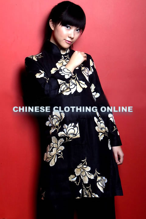 Long Mandarin Jacket (CM)
