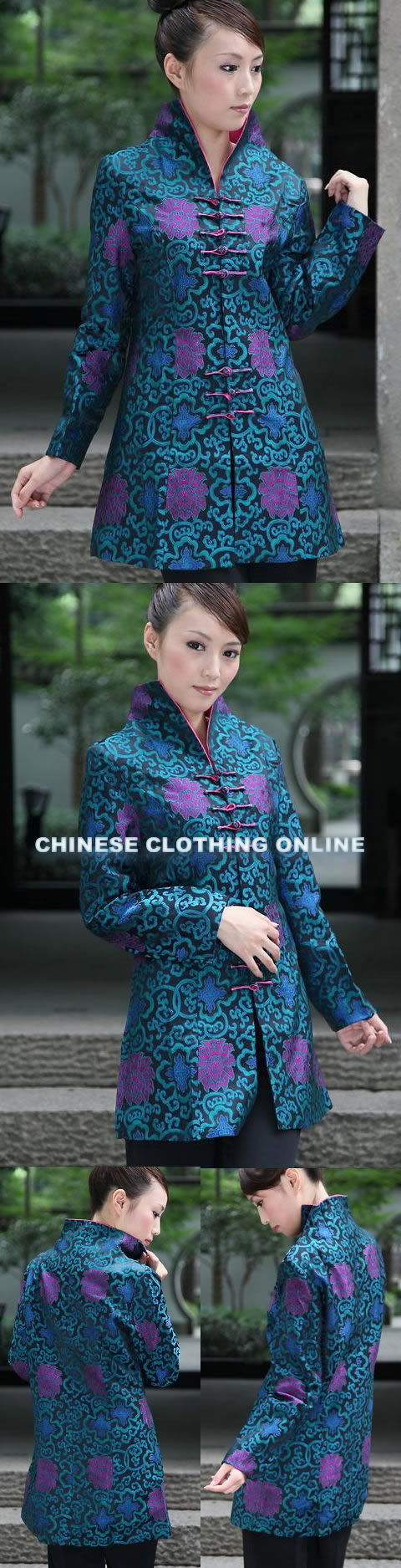 Mandarin Long Jacket (CM)