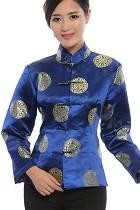 唐裝團壽刺繡夾克(成衣)