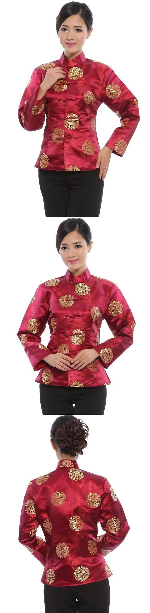 Mandarin Longevity Icons Embroidery Jacket (RM)