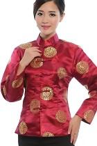 Mandarin Longevity Icons Embroidery Jacket (RM)