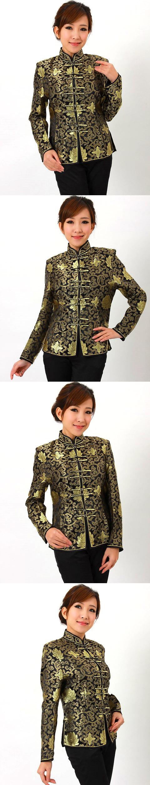 Mandarin Collar Embroidery Chinese Jacket (CM)