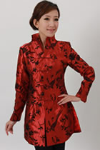 Mandarin Embroidery Long Jacket (RM)
