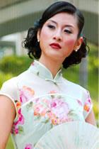Cup-sleeve Mandarin Blouse (CM)