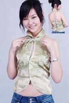 Cut-in Shoulders Bareback Mandarin Blouse (CM)