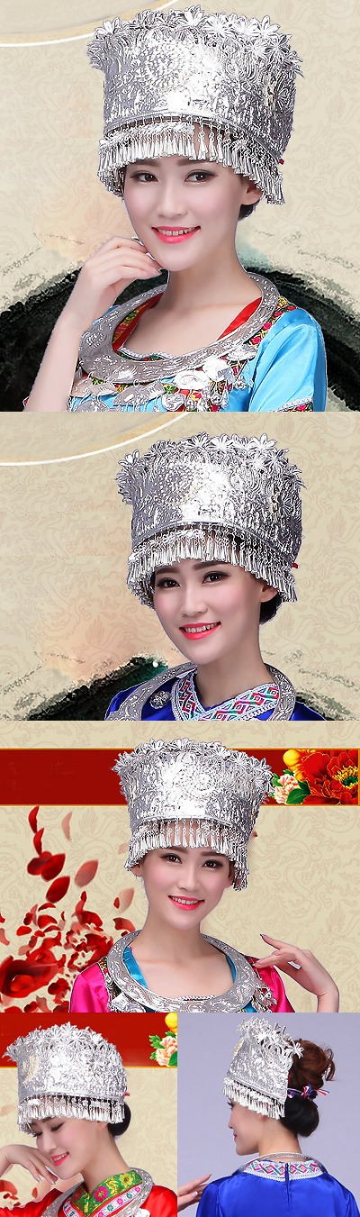 Miao Zu Luxurious Headgear