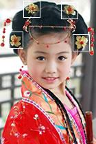 Little Floral Headgears (6 pcs)