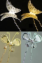 Butterfly Headgears (6 pcs)