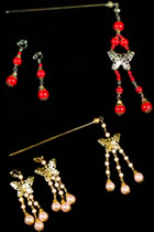 Buyao Hairpin with Earrings Set