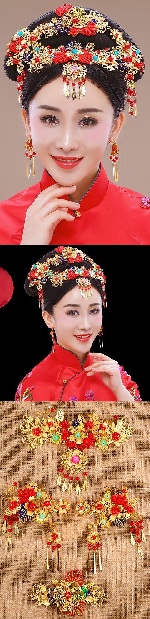 Luxurious Flower Headgear