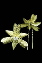 Little Golden Floral Headgears (2 pcs)
