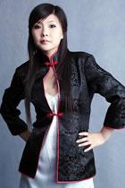 3/4-Sleeves Mandarin Jacket (CM)