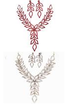 新娘項鏈耳環配飾