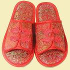 織錦緞舒適防滑拖鞋(多色)