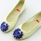 Delicate Lotus Embroidery Shoes (RM)