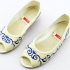 Chinese Ethnic Embroidery Fish Head Shoes (RM)
