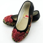 Mid Heel Chinese Ethnic Shoes