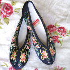 Bargain - Lotus Gege Embroidery Shoes