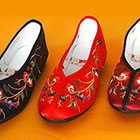 Floral Gege Embroidery Shoes (Multicolor)