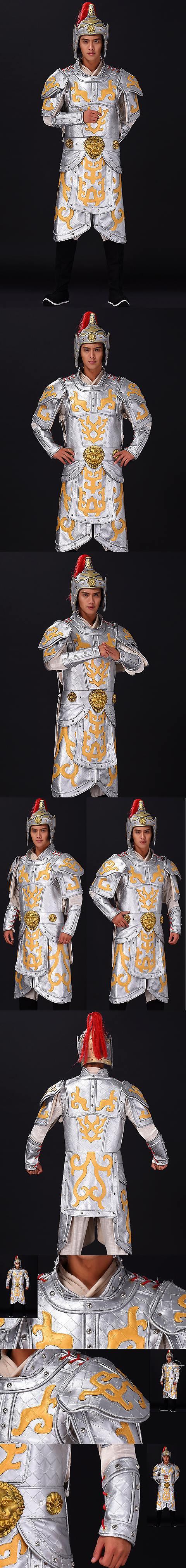 古裝將軍服套裝(成衣)