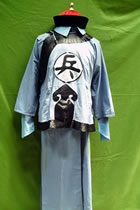 Qing Dynasty Soldier's Uniform w/ Hat (CM)