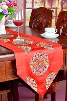 Chinese Ethnic Dragon Embroidery Table Runner (RM)