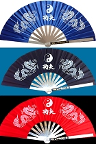 TaiChi KungFu Stainless-steel Folding Fan