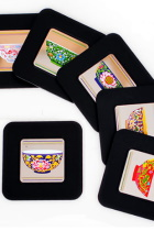 Chinese Ethnic Coaster (6 pcs)