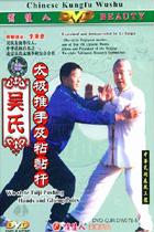 Wu-family-style Taiji Push-hand Adhesive Rod Boxing