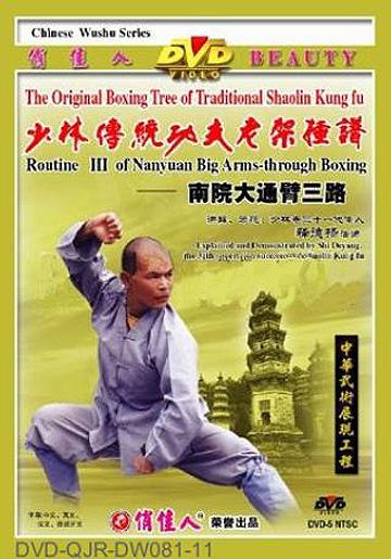 Shaolin South House Big Arm-through Fist III