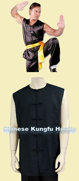 Round Collar Kung Fu Majia/Vest (CM)