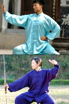 Mandarin Collar Binding-cuff Kung Fu Jacket / Shirt (CM)