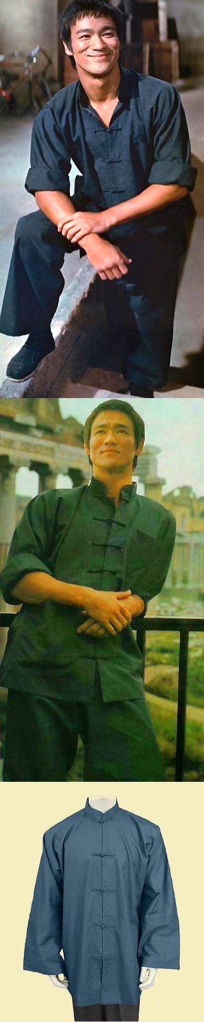 Mandarin Collar Open Cuffs Kung Fu Jacket/Shirt (CM)