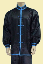 Mandarin Collar Binding Cuffs Kung Fu Jacket/Shirt (CM)