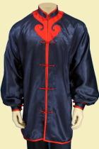 Mandarin Collar Spade Applique Kung Fu Jacket/Shirt (CM)
