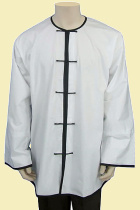 Round Collar Open Cuffs Kung Fu Jacket/Shirt (CM)