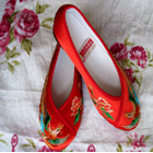 Phoenix Embroidery Shoes (Multicolor)