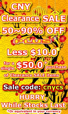 50~90% OFF Bargain Items (While stock last)