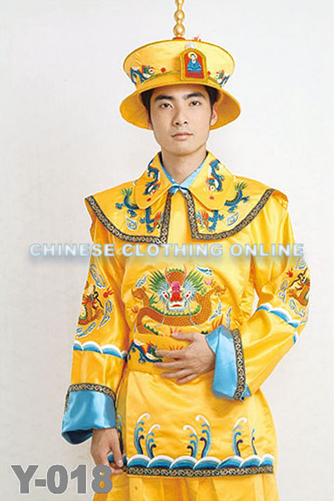 Qing Dynasty Imperial Court Dress w/ Crown (RM) [MMF-XGM-Y018]